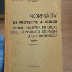 Normativ de protectie a muncii
