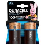 Cumpara ieftin Set 2 baterii Duracell Ultra power, tip D