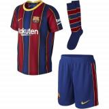Echipament Fotbal copii Nike FC Barcelona Home Kit 202021 CD4590-456