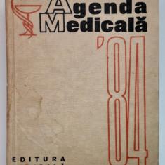 12 - Agenda Medicală '84 (Editura Medicală, anul 1984)