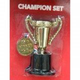 Set cupa si medalie campion