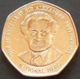 Moneda exotica 1 DOLAR / DOLLAR - JAMAICA, anul 2005   *cod 655