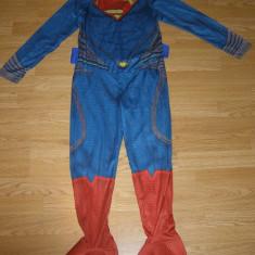 Costum carnaval serbare superman pentru copii de 10-11 ani, Din imagine