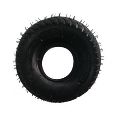 Set anvelopa si camera, pentru roaba, 3.50-4, negru, YTGT-00001