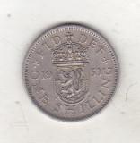 bnk mnd Marea Britanie Scotia 1 shilling 1953