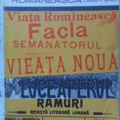 DIN PRESA LITERARA ROMANEASCA 1900-1918 - NECUNOSCUT
