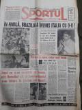 Ziarul Sportul romanesc nr 863 din 19 iulie 1994