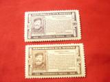 2 Timbre San Marino 1932 , 10 si 20C , sarniera, Nestampilat