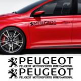 Sticker auto laterale PEUGEOT (set 2 buc.)