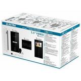 Kit videointerfon 1 familie aparent 3,5 Electra touch line smart VKM.P1SR.T3S4.ELB04