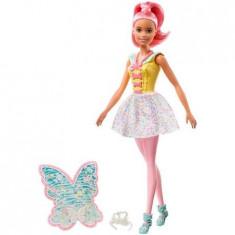 Papusa Barbie Zana Dreamtopia, Mattel