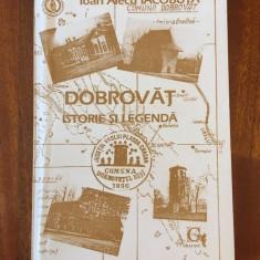 DOBROVAT Istorie si legenda - Ioan Alecu Iacobuta (1994, cu autograf - Ca noua!)