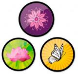 Cumpara ieftin Insigne, 3buc/set, Roller NIKIDOM - Spring