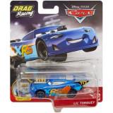 Disney Cars XRS - masinuta metalica de curse personajul Lil Torque, Mattel