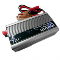 Invertor auto, 1000 W, 1 x ventilator, LED