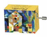 Flasneta Paul Klee, melodie Bouree