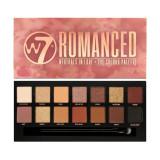 Cumpara ieftin Paleta farduri W7 Romanced Neutrals In Love Eye Colour Palette, 14 culori, 9.6g