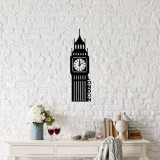 Cumpara ieftin Decoratiune pentru perete, Ocean, metal 100 procente, 18 x 69 cm, 874OCN1023, Negru