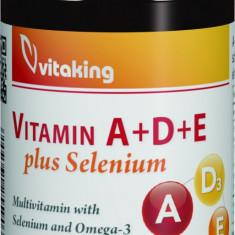 VITAMIN A+D+E plus Selenium – 30 capsule gelatinoase