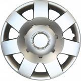 Set capace roti 14 inch tip Skoda, culoare Silver 14-219