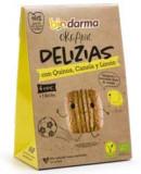 Cumpara ieftin Biscuiti din ovaz cu quinoa, scortisoara si lamaie bio 45g Bio Darma
