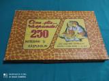 JOC VECHI ROMÂNESC: CINE ȘTIE RĂSPUNDE! 250 DE ÎNTREBĂRI ȘI RĂSPUNSURI! 1970