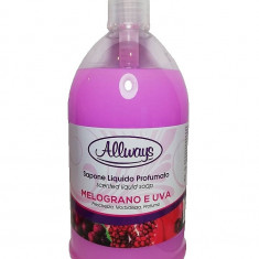 Sapun lichid parfumat Rodie si struguri Allways 1000 ml