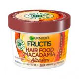 Masca par 3 in 1 Macadamia Hair Food, 390 ml - Garnier
