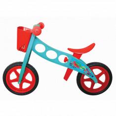 Bicicleta fara pedale (pedagogica) FIVE Lumineon Rosu Albastru