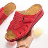 Papuci dama rosii MDL00605