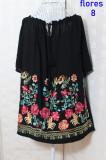 Cumpara ieftin Bluze Flores 8 Neagra, XL