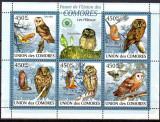 Ins. COMORE 2009, Fauna - Pasari, MNH, nedant.