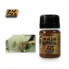 AK046 LIGHT RUST WASH - Weathering Products (35 ml) Не