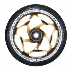Roata Trotineta Blunt 120mm x 30mm Tri Bearing Gold/Black