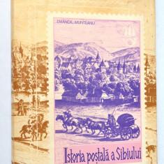 Istoria postala a Sibiului pana la unire - Emanoil Munteanu  1980 filatelie