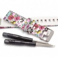 Bratara model de floare 22mm pentru garmin fenix 5