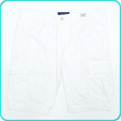 Pantaloni scurti, bumbac 100%, de calitate, TOMMY HILFIGER → barbati| marimea 34 foto