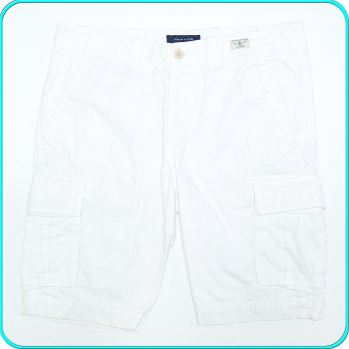Pantaloni scurti, bumbac 100%, de calitate, TOMMY HILFIGER → barbati| marimea 34