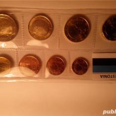 Vand set monede Euro Estonia 2011, stare nefolosita UNC