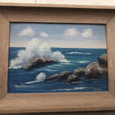 Tablou ,pictura in ulei peisaj,original, Hawaii