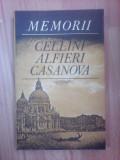 Memorii - Cellini Alfieri Casanova