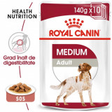 Royal Canin Medium Adult, 10 x 140 g