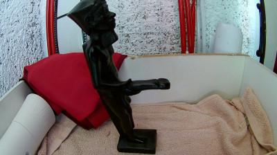 Statueta Egipteana mai deochiata foto