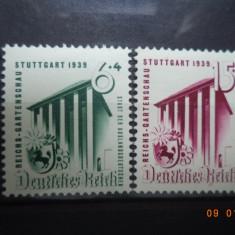 1939  Germania ( Reich ) Mi 692 - 693  Serie completa**, Nestampilat