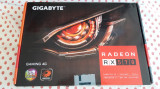 Placa video GIGABYTE Radeon RX 570 GAMING 4GB GDDR5 256-bit., PCI Express, 4 GB, AMD