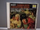BIZET - CARMEN-SUITE/L'Arlesienne (1987/Deutsche Grammophon/RFG) - CD ORIGINAL/