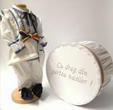 Cumpara ieftin Set Costum National Victoras 7 si Cutie Botez Traditional