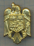 Y 1545 INSIGNA-MILITARA  -EMBLEMA COIFURA -PENTRU COLECTIONARI