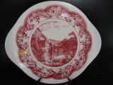 TAVA / PLATOU DE TORT DIN PORTELAN