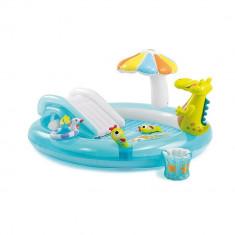 Piscina gonflabila Gator cu jucarii , centru de joaca , Intex